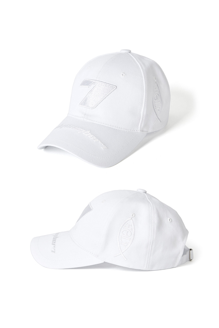 Seven Ball Cap_WHITE