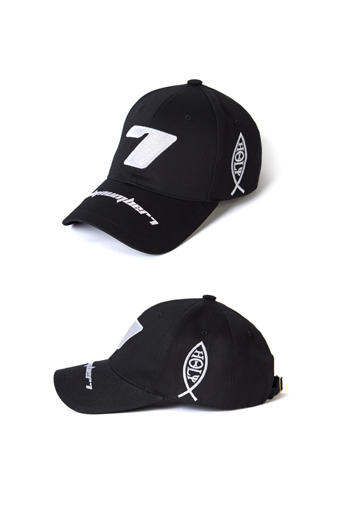 Seven Ball Cap-BLACK