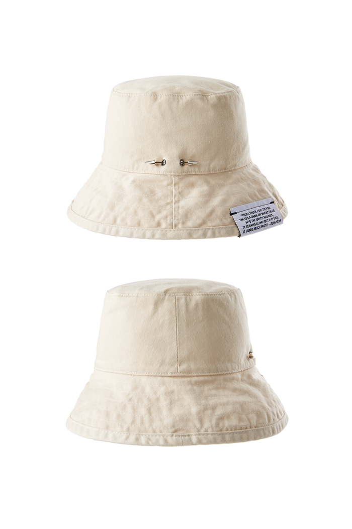 Holy Spear Bucket Hat_Beige