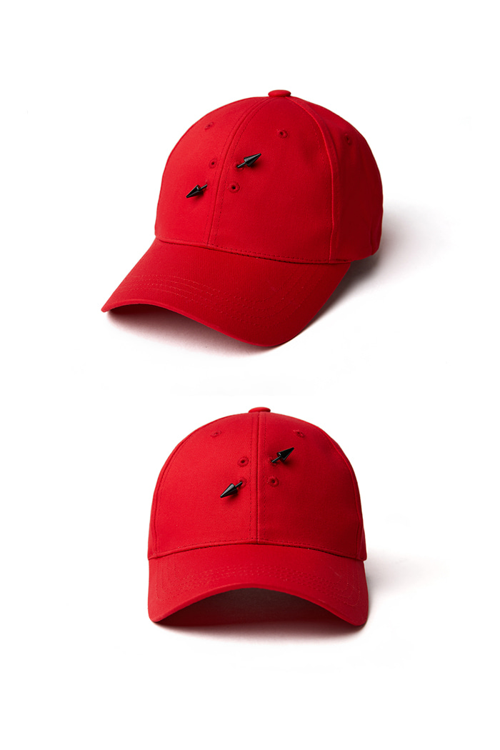 Holy Simple Ball Cap_red