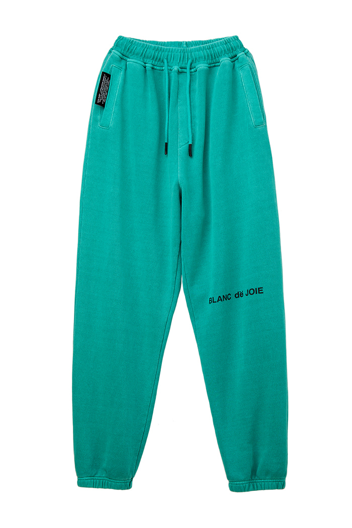 GARMENT-DYED TRAINING PANTS_green