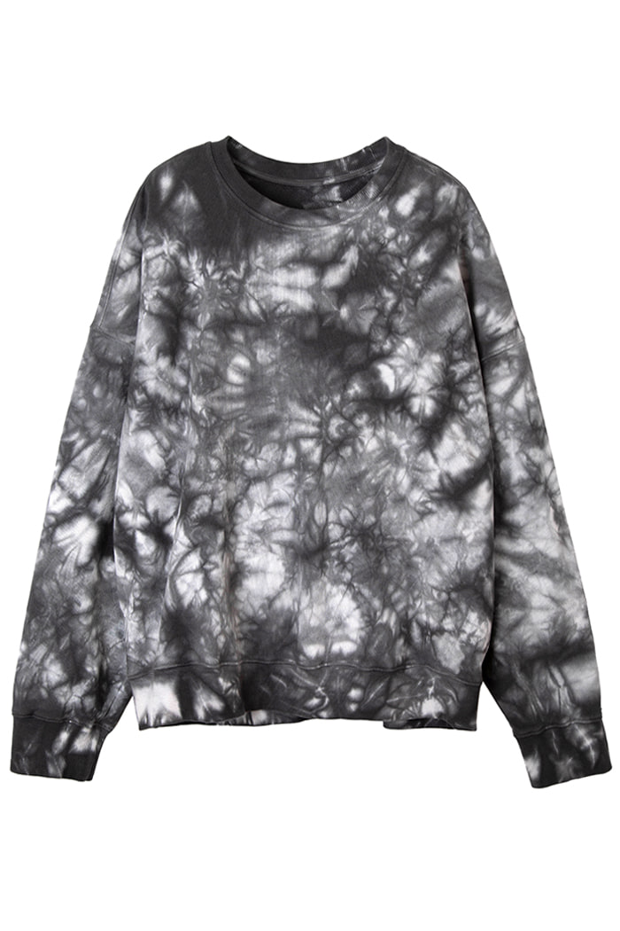 REVERSIBLE GARMENT-DYED SWEATSHIRT_Tie die