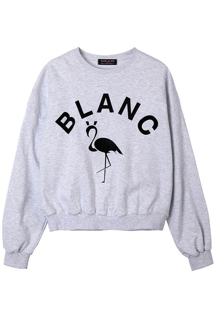 FLAMINGO SWEATSHIRT_oatmeal